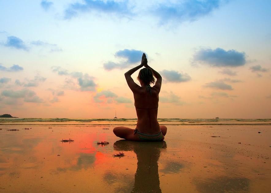Yoga meditation day demo